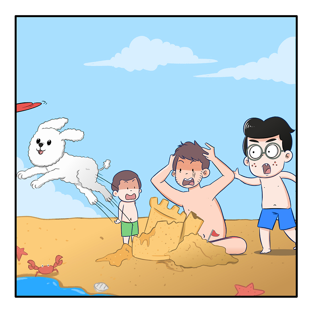 A Typical Day at the Beach
